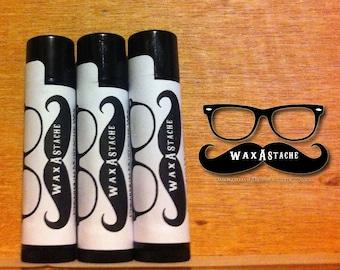 Wax-A-Stache Extra Firm Original Scented Moustache Wax 3 Travel Tubes .15oz each