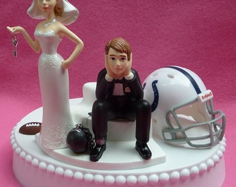 pittsburgh steelers wedding cake topper wedding cake topper pittsburgh steelers football themed by 18624