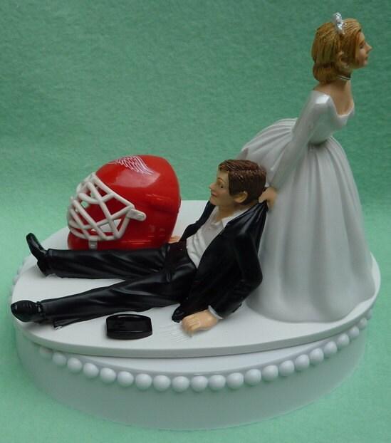 Detroit Red Wings Cake Topper