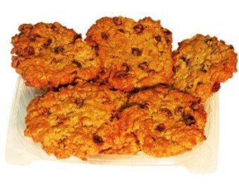 2 Dozen Oatmeal Raisin Cookies
