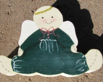 Wooden Angel Romper Hand Painted