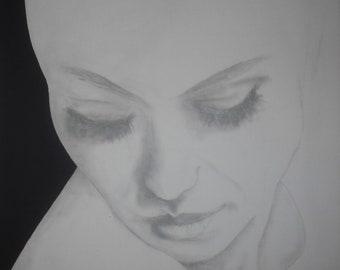 Original Artwork - 'Violet'