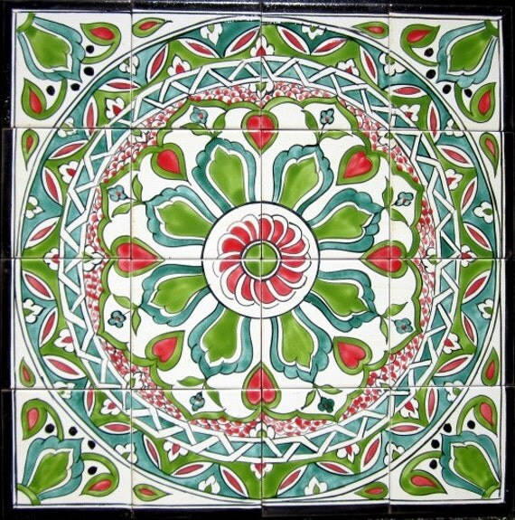 Etsy your place to buy and sell all things handmade for Decorative tile mural