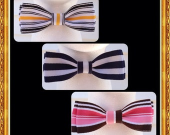 Boys Striped Bow Ties