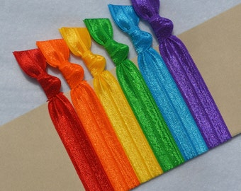 Candy Brights  Hair Ties Set