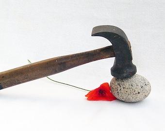 Vintage Steel Cobblers Shoemakers Hammer Decorative Item
