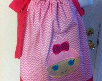 ballerina pillowcase dress