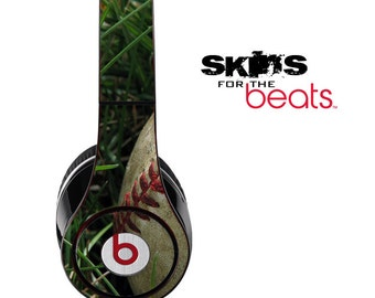 Baseball Skin for the Beats by Dre Studio, Solo, MIXR, Pro or Wireless Version Headphones