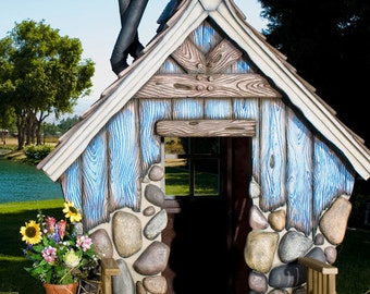 Huck's Hideout Playhouse