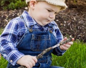 Crochet Newsboy Cap in Latte Tan - Chunky Soft Crochet Beanie - Depression Era Style for Baby / Toddler / Boy / Girl / Man / Woman