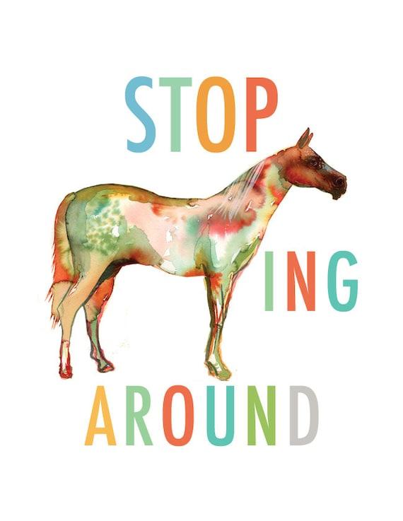 Resultado de imagem para stop horsing around