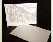 Brooklyn letterpress card and journal bundle