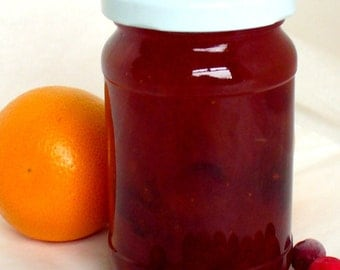 Christmas Marmalade, Orange and Cranberry Marmalade, Fruit Marmalade
