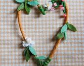 Heart Wreath--Small