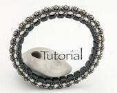Beadwoven Bracelet Tutorial Magic Bangle (advanced) Digital Download