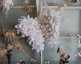 Tattered Angel Wings - Abandoned Vintage Fabric Shabby Chic Wings