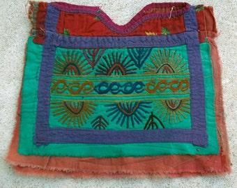 Afghanistan- Vintage Textile Remnant, Dress Yoke, Item 12