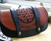 Leather Handbag-Leather Handbags- Southwestern Leather Handbags-Leather handbags-Celtic Handbags-Handbags Leather- Leather Handbag-Tooled