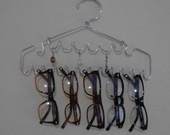 Jewelry Hanger Jewelry Display Glasses Organizer Shabby Chic Scalloped Handmade Two Tiered