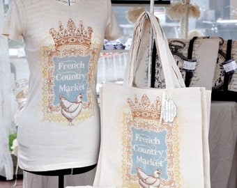 French Country Market tee
