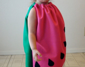 Baby Costume Watermelon Fruit Food Toddler Infant Newborn Halloween Costume Pink Girl Costume