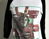 Vintage Quiet Riot Rock Shirt - licensed