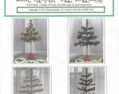 Wool Feather Tree Directions, 8, 12, 18, 24, and 36 inch trees