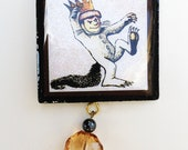 King of the Wild Things ORNAMENT - Rumpus, Monster, Beast, Baby, Holiday, Gift, Present, Stocking Stuffer, Under 10, Christmas, Birthday