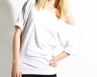 Special order for krittyrae Off The Shoulder Cotton Relaxed Tshirt Top