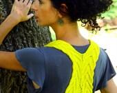 Knitting Pattern- Winding Vest