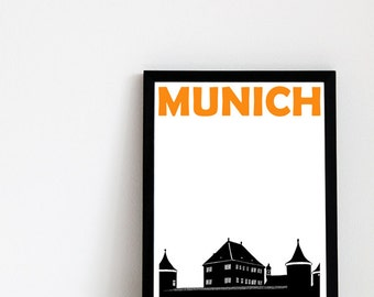 Munich Print // Germany Print Travel Art