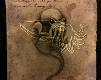 Cthulhu Spawn, 4x5 Print on Fugi Crystal Archive Matte - Unframed