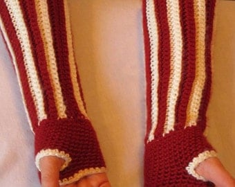Autumn Arm Warmers Driving Gloves Fingerless Gloves