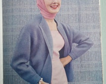 Vogue Knitting Book 1956 No. 48 - Vintage Knitting Patterns 1950s Womens 50s original patterns