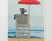 Beach photography, surf decor, 8x10 fine art print by Cathie Carlson