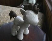 Stallion Plush Sewing Pattern with Unicorn Horn, Pegasus and Bat Wings (Plushie, Pony, Stuffed Toy, digital PDF)