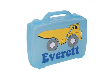 Personalized Carrying Case - Dump Truck