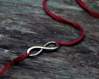 valentines day gift red thread bracelet friendship bracelet romantic jewelry wish bracelet infinity jewelry mom daughter wishlet for her