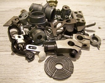 Metal Parts, Steampunk, Mixed Media Assemblage for Sculptures or Altered art.