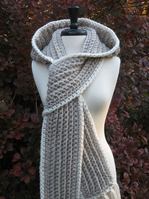 Ultra Plush Nordic Hooded Scarves Hooded Scarf Winter