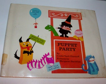 1971 Puppet Party Children's Book