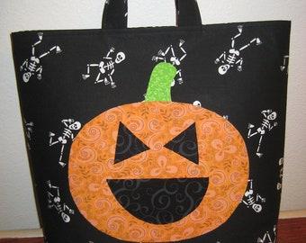Halloween Trick or Treat Bag PDF PATTERN