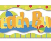 Jolee's Boutique Title Waves / BEACH BUM Stickers