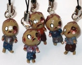 Zombie Brains Polymer Clay Charm You Choose