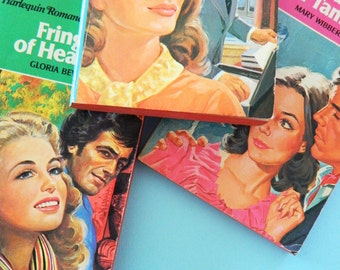 Instant Collection of 70's Paperback Romance Novels / Vintage Romance Novels / Vintage Paperbacks