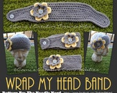 Wrap My Head Band PDF Pattern Teen/Adult - Instant Download