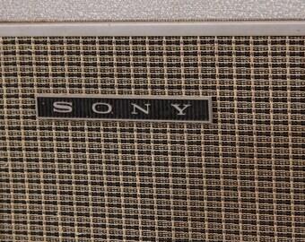 Vintage 1960s Sony Speakers P.A. System Tokyo Japan