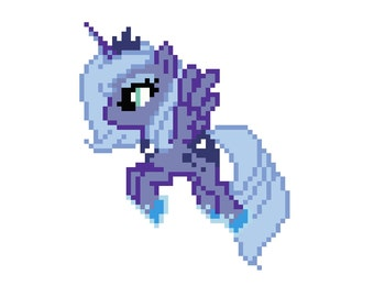 Princess Luna (My Little Pony: Friendship Is Magic) - Cross Stitch Pattern