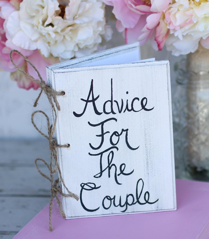 Cute Wedding Guest Book Ideas: Bridal Shower Guest Book Shabby Chic Wedding Decor By