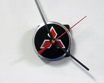 Mini Mitsubishi Wall Clock - Small Car Clock - Eco-friendly